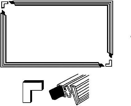 Europart – Conjunto de junta para puerta de frigorífico 1 300 x ...
