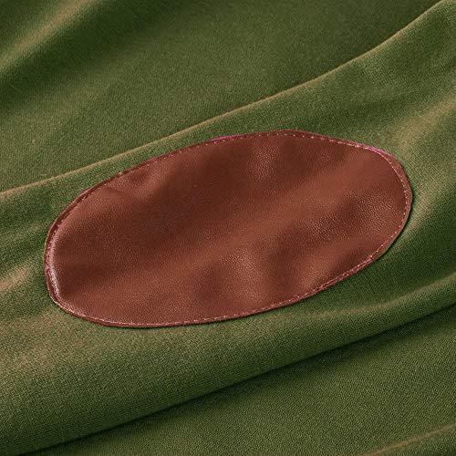 Donna Verde Donna Donna 5XL Elegante Pullover Taglie Sexy T Manica Maglietta Tumblr Forti Blusa Donna Felpa S Weant Donna Lunga Donna Maglia Cappuccio Donna Camicia Ragazza Magliette Shirt Bianca 4xwfqC7