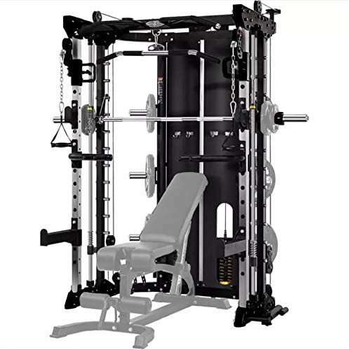 Commercial Home Gym – Smith Machine, Cables with Built in 160 kg Weights