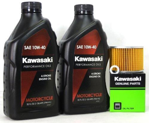 2009 Kawasaki EX250J9FA (Ninja 250R) Oil Change Kit