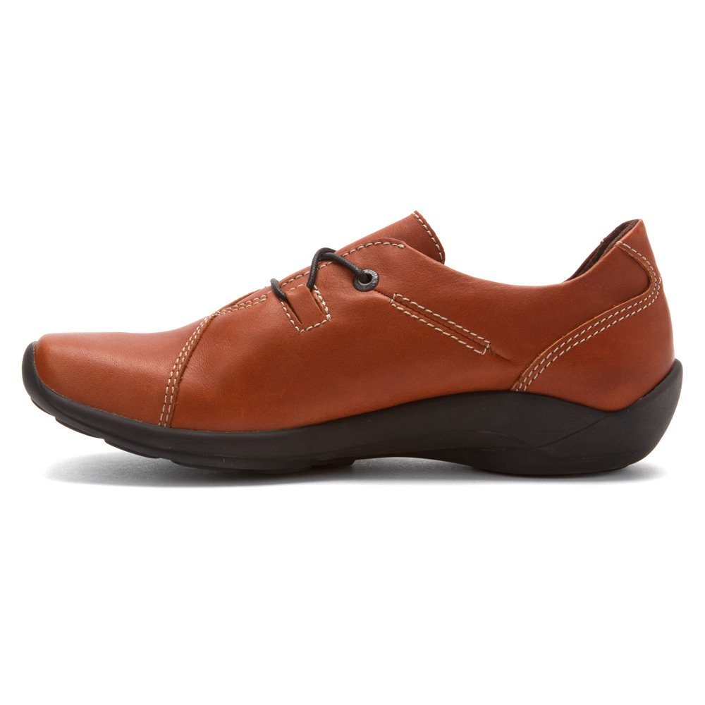 Wolky Comfort Lace up Shoes Dutch B00C7MY6HW 43 M EU|Cognac Greased Leather