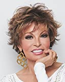 Voltage Avg Cap Short Tousled Wispy Bang Raquel Welch Wigs Color R9F26