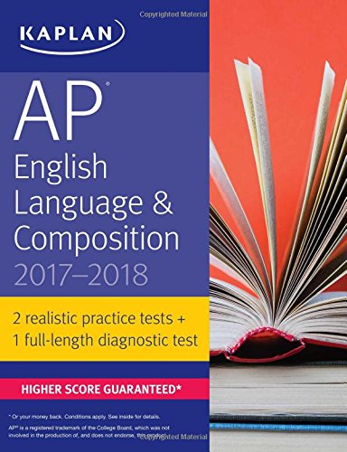 AP English Language & Composition 2017-2018 (Kaplan Test Prep) -  Denise Pivarnik-Nova, Teacher's Edition, Paperback