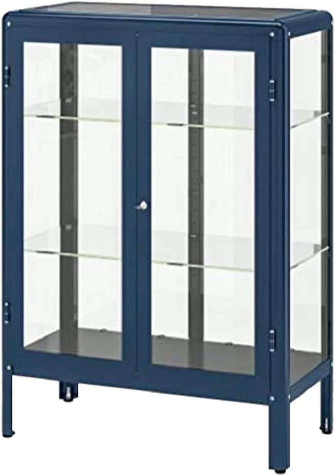 Ikea - Armario para Puerta de Cristal, Color Azul: Amazon.es: Juguetes y juegos