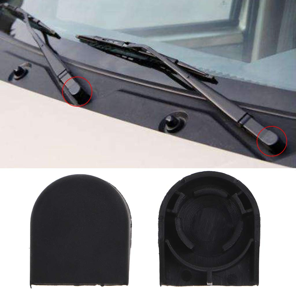 ZUIMEI 2Pcs Car Wiper Arm Cap for Toyota Yaris Corolla Plastic Wiper Cover Car Wiper Cap