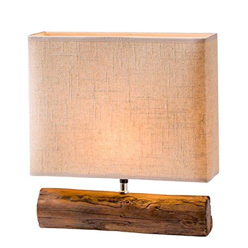 Torre & Tagus 960078B Resin Log Lamp - Brown (Log Lamp)
