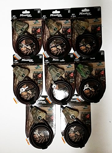 Master Lock Adjustable Camouflage PackageQuantity product image