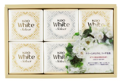 Kao white select elegant white bouquet of fragrant solid soap 6 Co (K · WS-10)