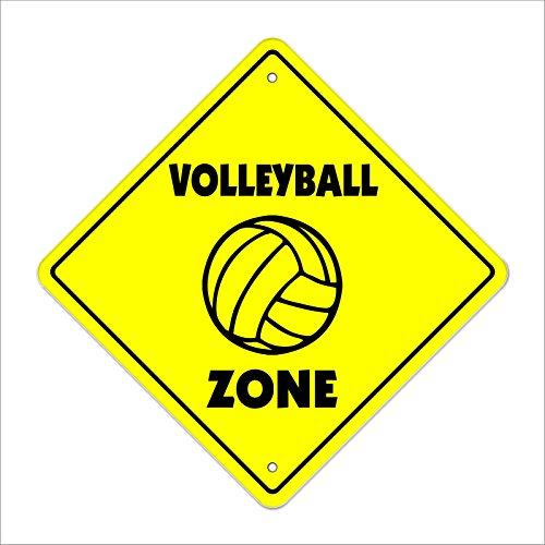 Cortan360 Volleyball Crossing Sign Zone Xing 8