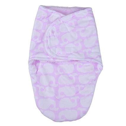 LOLIVEVE Envuelva El Saco De Dormir del Bebé Recién Nacido Autumn Winter Warm Blanket Cartoon El