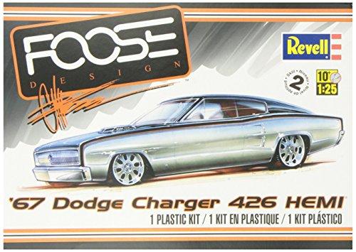 Revell '67 Dodge Charger 426 Hemi Plastic Model Kit