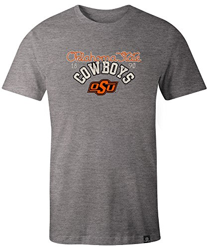 NCAA Oklahoma State Cowboys Adult Women NCAA Classic Arch Script Image One Women's Triblend Short sleeve T-Shirt, ()