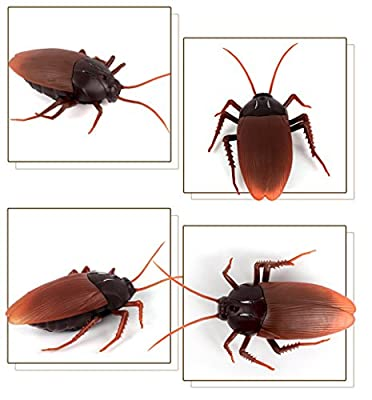 Bhbuy Remote Control Realistic Fake RC Prank Toys Insects Joke Scary Trick from Bhbuy