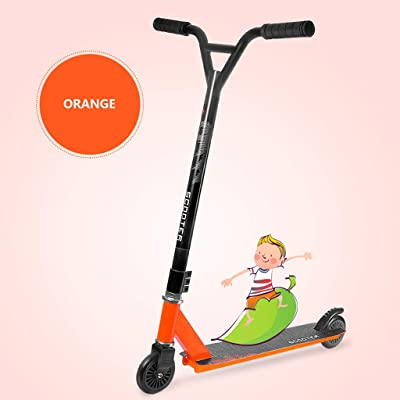 Baby Playpen 2-Wheeled, Lean-to-Steer, Micro Scooter for Kids, Scooters for Kids 8 Years and up - Orange Learn to Steer with Extra-Wide Pu Wheels for Children from: Home & Kitchen