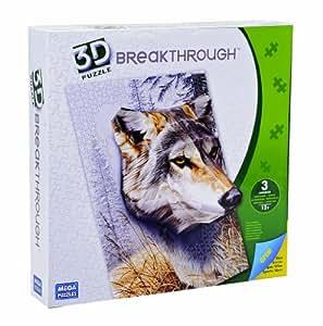 Mega Bloks 50670 Puzzle 3D Gran Lobo