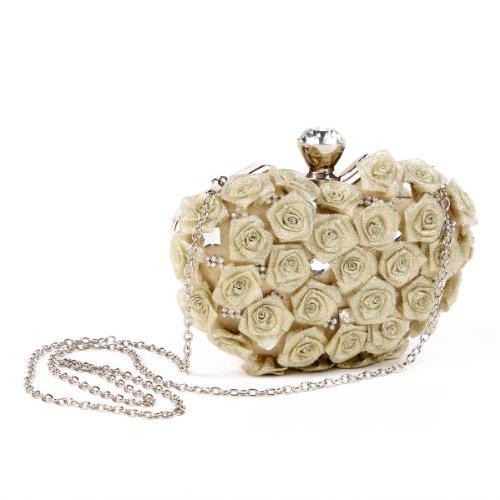 Crecieron Hardcase Caja Garras Para Mujer De Negro Mini Brillantes Cristales Damara pYq0w10