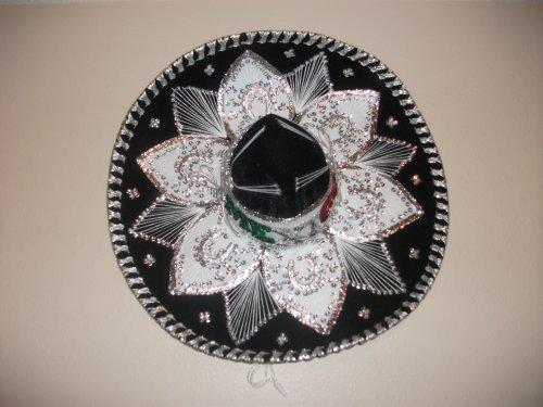 Charro Sombrero (Mexican Mariachi Velvet Charro Hat- Large Size)