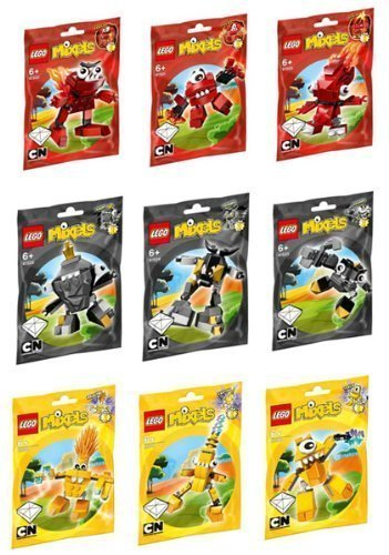 LEGO LEGO LEGO Mixels Series 1 Complete Set of All Figures Characters by LEGO f9fae2