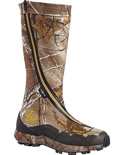 """Rocky Men's Broadhead 16"""" Waterproof Boot Camouflage 8 M"""
