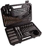 Bosch 2608594070 Mixed Accessory Set (103 Piece), Black