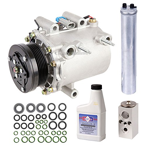 New AC Compressor & Clutch With Complete A/C Repair Kit For Chevy GM Minivan - BuyAutoParts 60-80471RK - Montana Minivan Pontiac