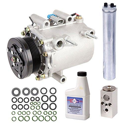 New AC Compressor & Clutch With Complete A/C Repair Kit For Chevy GM Minivan - BuyAutoParts 60-80471RK - Pontiac Minivan Montana