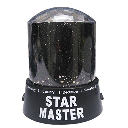 REDLEMON Lámpara Proyector de Estrellas de Luz LED, Estrellas en el Cuarto de los Niños, con Domo...