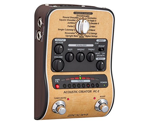 Zoom AC-2 Acoustic Guitar Effect Pedal 6