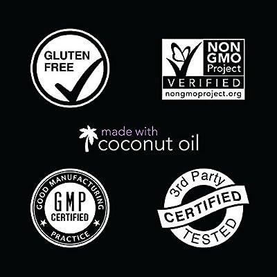 Biotin (5000mcg) Infused with Organic Virgin Coconut Oil - 120 Veggie softgels