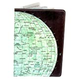 The Moon Map Passport Holder, Bags Central