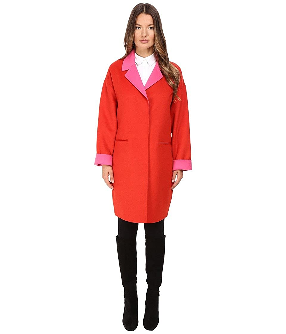 Kate Spade New York Womens Single Breasted Hidden Button Peacoat 36 267333