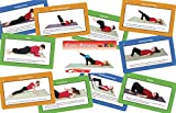 Sportime Core Pilates for Kids Exercise Cards, Set of 56