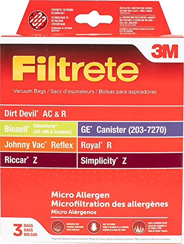 Amazon.com: 3M Filtrete Dirt Devil AC & R/Bissell GE ...