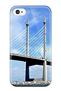 Best 8285841K14846119 Top Quality Rugged Penang Bridge Malaysia Case Cover For Iphone 4/4s