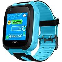 B.B.PAW Kids Smart Watch, Games Timer Alarm Clock Camera Pedometer Touchscreen Kids Watch-Pink