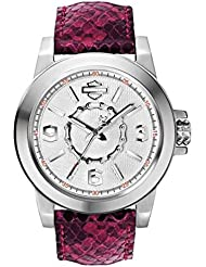 Harley-Davidson Womens Bulova Chain Wrist Watch 76L172