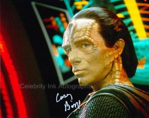 CASEY BIGGS as Damar - Feature Trek: Deep Space Nine Genuine Autograph