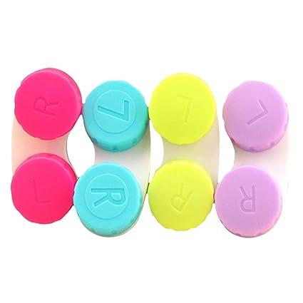 SUPVOX 12 piezas Estuche para lentes de contacto caja de ...