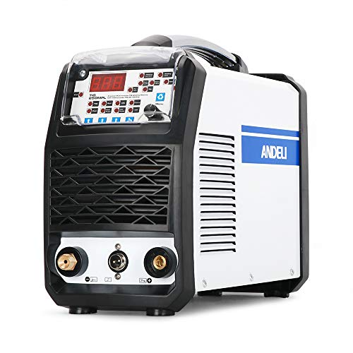 ANDELI TIG Welder MOS Tube Multifunctional TIG Welding Machine with Hot/Cold/TIG Pulse Cold TIG Welding Machine TIG-250MPL (Package 2)