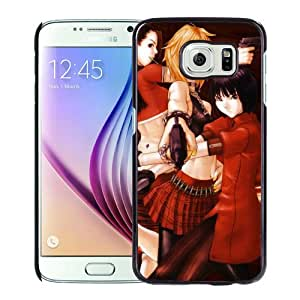 Popular And Unique Designed Cover Case For Samsung Galaxy S6 With Burst Angel Bakuretsu Tenshi Girl Arms Posture City black Phone Case