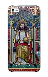 Ultra Slim Fit Hard HansenLiuy Case Cover Specially Made For Iphone 5c- Reredos