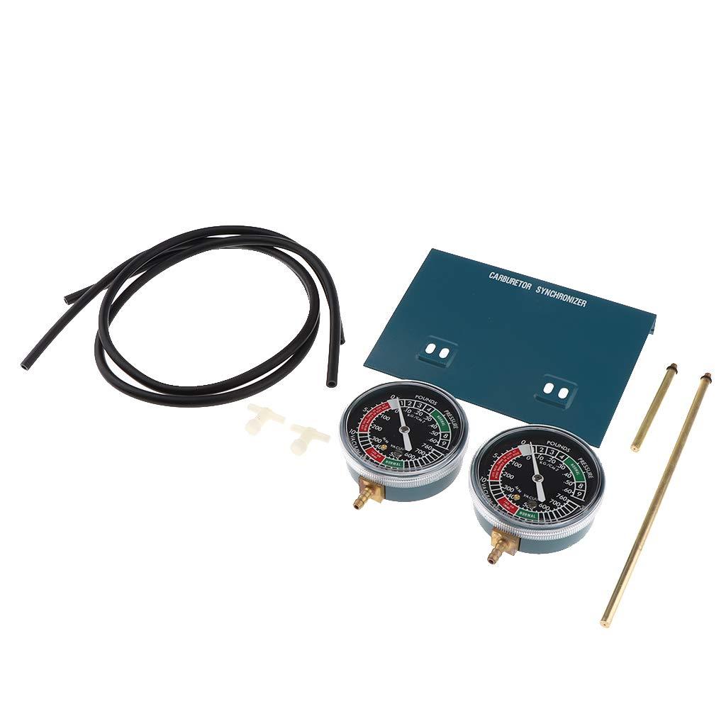 perfk 70 mm Vergaser-Synchronisierer-Vakuummeter Unterdruckanzeige Balancer Synchronizer