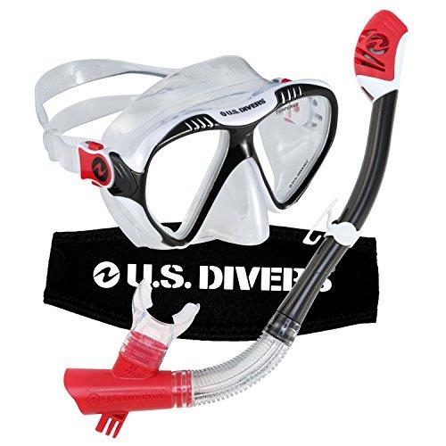U.S. Divers Adult Magellan Purge LX Mask/Tucson LX Snorkel Photo #4