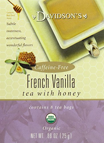 (Davidson's Tea French Vanilla, 8-Count Tea Bags (Pack of 12))