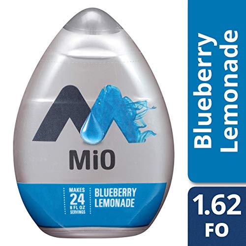 Mio Blueberry Lemonade Liquid Water Enhancer Drink Mix (1.62 fl oz Bottle) (10043000005498), Set of 4