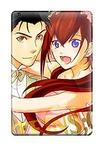 Tpu Fashionable Design Anime Anime Boys Steins;gate Makise Kurisu Okabe Rintarou Rugged Case Cover For Ipad Mini/mini 2 New