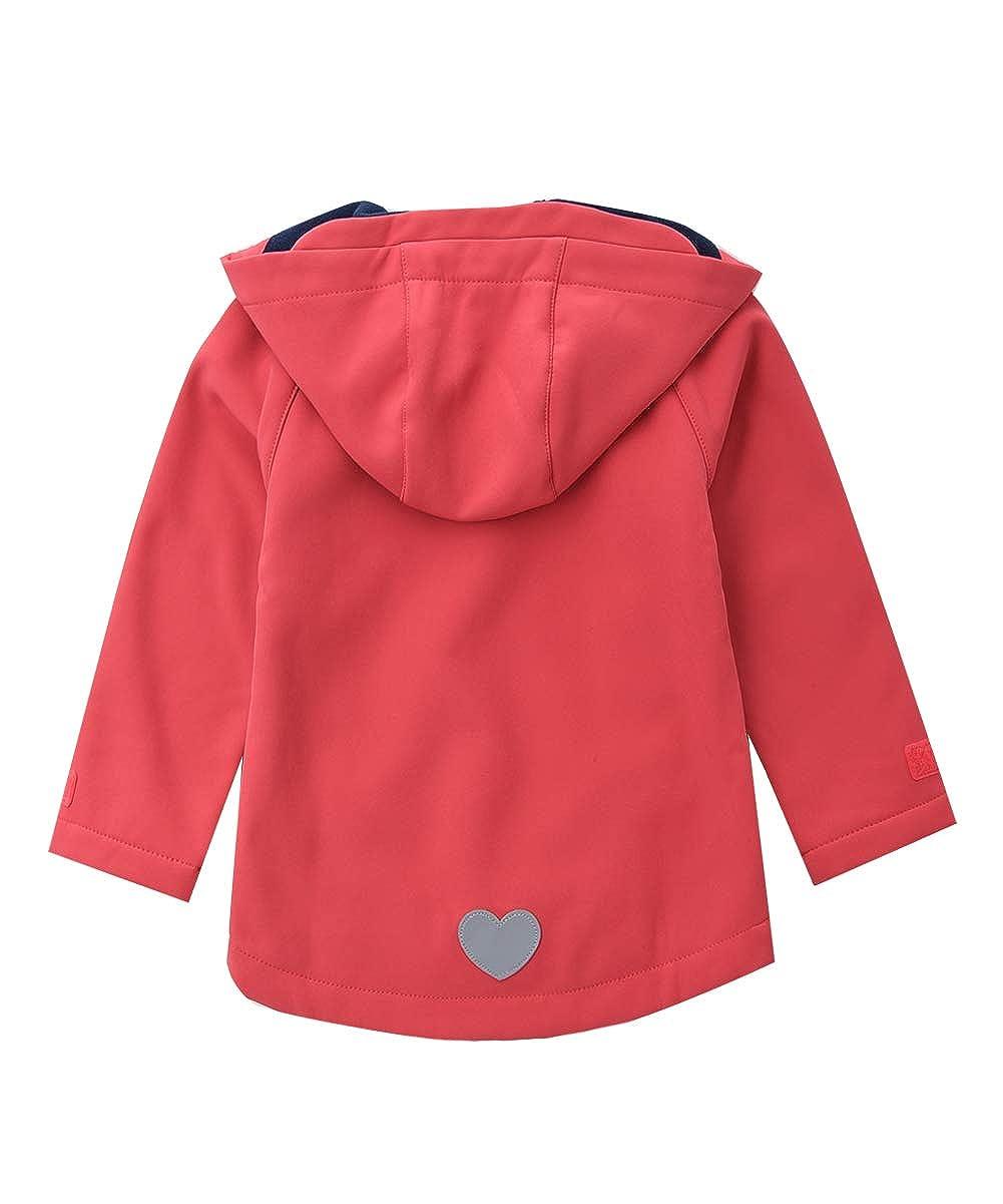 M2C Girls Hooded Fleece Lined Windproof Softshell Jackets