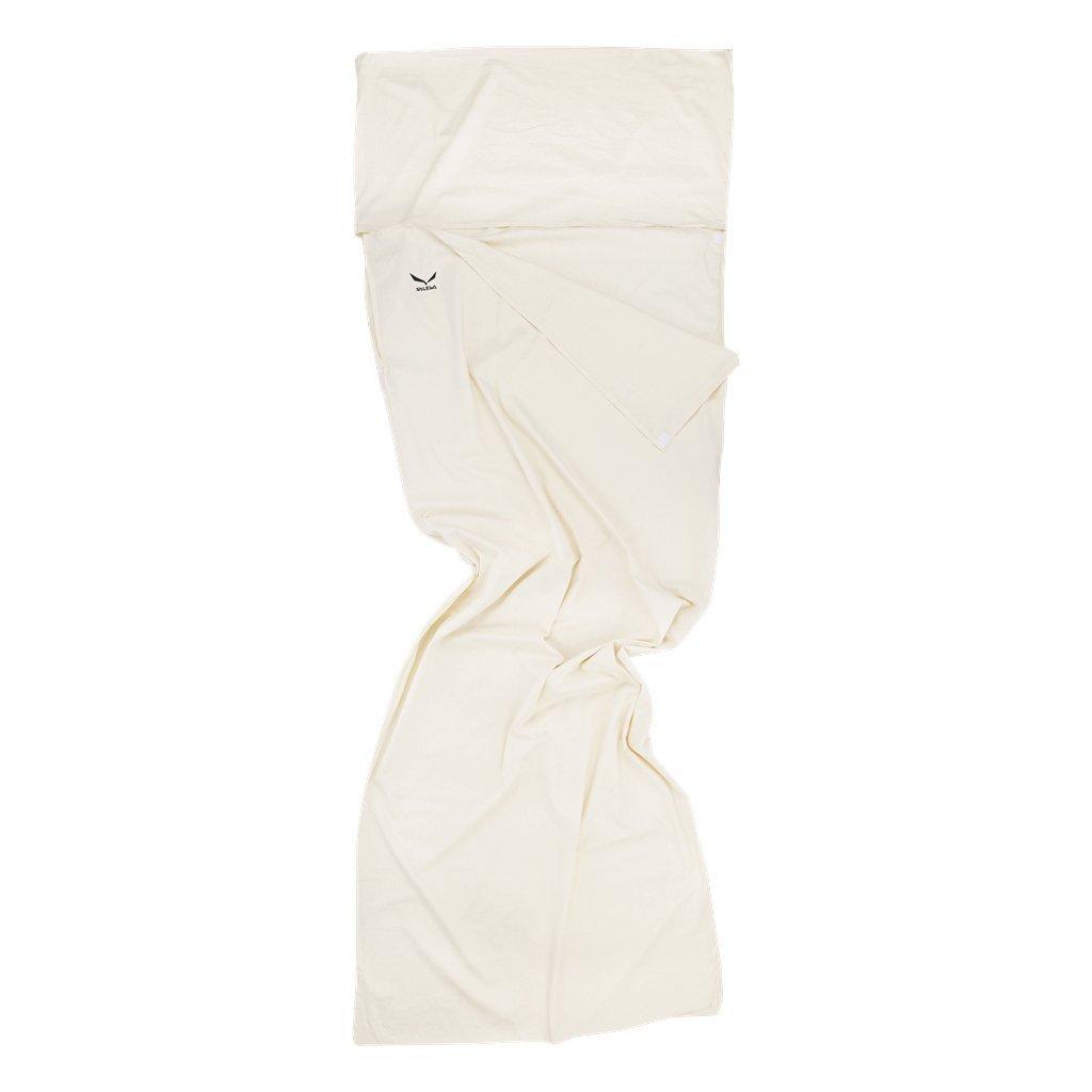 SALEWA Schlafsack Cotton - Sábana para saco de dormir, color blanco, dimensiones 210 x 75 x 75 cm: Amazon.es: Deportes y aire libre