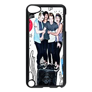 Rock band 5SOS Hard Plastic phone Case Cover FOR Ipod Touch 5 ART139045
