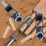 PEAKDRILL Tenon Dowel Plug Cutter Minor Diameter